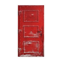 Holliewood_PopChristmas_Door1.png ❤ liked on Polyvore featuring doors, red, backgrounds and windows