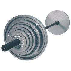 Olympic Weight Set with Black Bar is a great way to start working out. The set comes with 14 USA Sports Olympic plates a ...  sc 1 st  Pinterest & Amazon.com : Troy Barbell VTX Rubber Coated 300 Pound Olympic Weight ...
