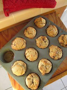 Wholesome Chow Blog: Gluten Free Banana Chocolate Flax Muffins