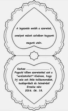 BÚCSÚAJÁNDÉK A NEGYEDIKESEIMNEK - tanitoikincseim.lapunk.hu