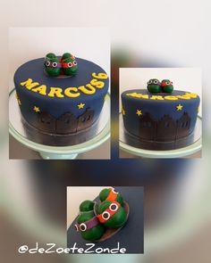Ninja turttles cake