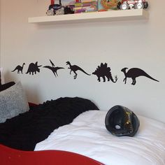 I've just found Pack Of Six Dinosaurs Wall Stickers. Dinosaurs wall stickers.. £14.00