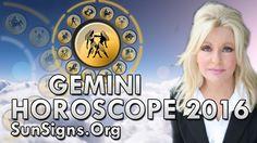 Gemini 2016 Horoscope Click -- http://www.sunsigns.org/gemini-horoscope-2016/ To Read Gemini Full Horoscope 2016 Visit -- http://www.sunsigns.org/horoscope-2...