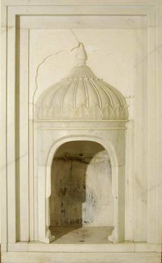 Pakistan (Lahore) marble fireplace