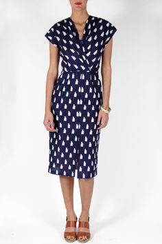 TILDA GRAPHIC DRESS by Apiece Apart
