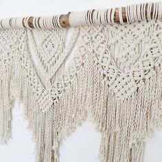 Close up  #macrame #macramewallhanging #macramewallart #fibreart #boho #bohostyle #bohohome