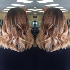 Colormelts, balayage, ombre  @teahairblends