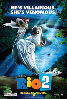 """""""Rio 2″ teve divulgado os primeiros cartazes http://cinemabh.com/imagens/rio-2-teve-divulgado-os-primeiros-cartazes"""