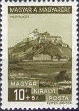 Sello: Castle Munkács (Hungría) (Hungarian for Hungarians) Mi:HU 520 Castle, Cover, Books, Art, Hungary, Stamps, Castles, Art Background, Libros