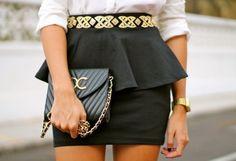 Falda Negra   Zara , Otoño-Invierno 2013. En el armario de marianela406862 desde el 9-11-2012