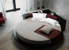 Sleek Modern Round Bed Design by VIG