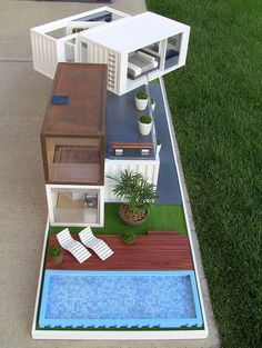 Completed FR8 House by renfroedesign, via Flickr