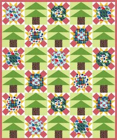 Forest Fun designed by Robert Kaufman Fabrics. Features Woodland Pals by Ann Kelle, shipping to stores April 2016. Three color stories. FREE pattern will be available for download fromrobertkaufman.com in March 2016. #FREEatrobertkaufmandotcom #annkelle