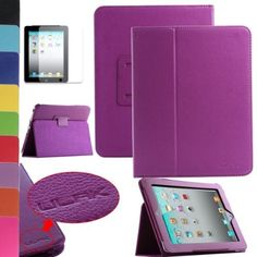 Pandamimi ULAK(TM) Magnetic PU Folio Leather Case Cover with Built-in Stand for Apple iPad 1 1st Generation + Screen Protector (Purple) by ULAK, http://www.amazon.com/dp/B00DBSFXAA/ref=cm_sw_r_pi_dp_xgJgsb1AYN055