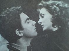 "Ellie Lambeti & Dimitris Horn in ""Kalpiki Lira"". The most amazing and talented couple in Greek cinema."
