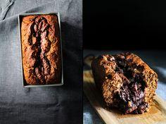 Molten Choco Banana Bread
