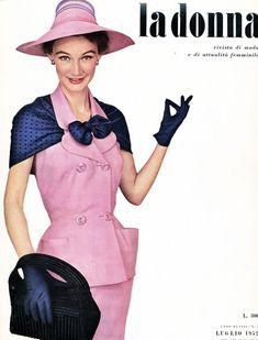 what-i-found: La Donna - Italian Fashion Magazine - 1952