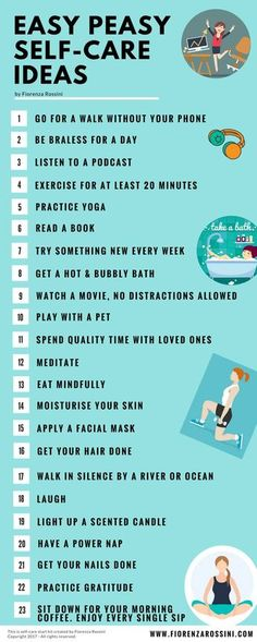 Easy self-care ideas