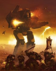 Warlord-class Titan - Warhammer 40K Wiki - Space Marines, Chaos, planets, and more