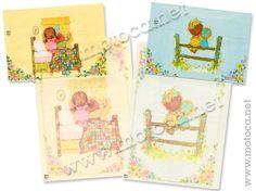 Papel de Carta Sarah Kay, Nostalgia, Stationery, Lettering, Comics, Retro, Children, Paper, Floral