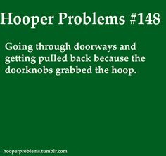 After EVERY SINGLE hoop class. One day I will learn.