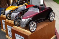 Custom pedal cars - Chrysler Prowler