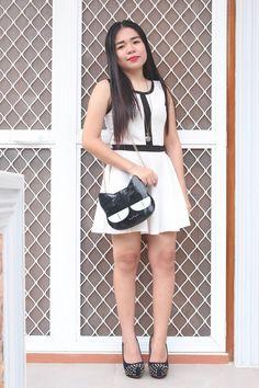 Contrast Trim Vest Skater Dress from Stylemoi: Fashion Beauty, Womens Fashion, Mom Fashion, Fashion Tips, Skater Dress, Skater Skirts, Cute Woman, How To Feel Beautiful, Mom Style