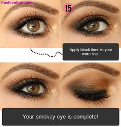 brown eye makeup tutorial - Google Search