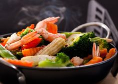 Speedy and Spicy Shrimp Stir-fry - Quick Recipe.    Medical Arts Pharmacy in Fayetteville, AR.  Serving NWA since 1959.