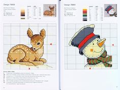 snowman and deer cross stitch Gallery.ru / Фото #27 - 021 - Yra3raza