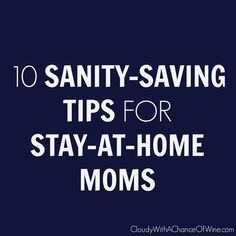 If you're losing your mind as a SAHM, you need to read this post. PRONTO! #humor #funny #motherhood
