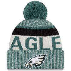 On Field 2017 NFL Sideline Philadelphia Eagles On Field Sport Knit Beanie 7b61c9dca