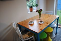 Interior styling and inspiration for a fun, colourful, vintage inspired home