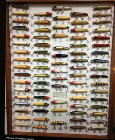 """Heddon Vamp Lure The Heddon Vamp Lure is a series 7500 and measures 4 1/2"""" in length. This antique lure was first produced in 1920, and from then on was a regular staple in the James Heddon and Son fishing lure lineup for over 50 years. The antique fishing lure"""