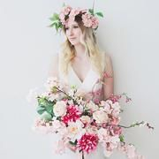 Get The Look: Pink Spring Wedding Shop pink silk flowers to DIY your spring wedding arrangements. Diy Wedding Bouquet, Diy Bouquet, Diy Wedding Flowers, Flower Bouquets, Bridal Bouquets, Wedding Tips, Faux Flower Arrangements, Peony Arrangement, Wedding Arrangements