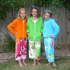 f220fc3411 Jackets & pants made out of beach towels! Why must the kids have all the