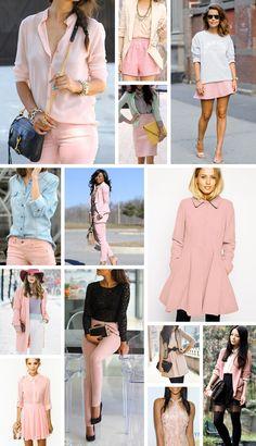 Look inspirados Rose Quart. con @patriciasachss #ColorPantone2016 #RoseQuartz #Outfit