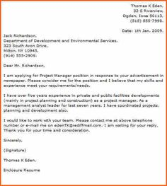Marketing Project Manager Cover Letter Examples Durdgereport Web