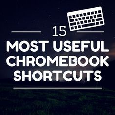 Whether it's Microsoft Excel, Windows or your new Chromebook, keyboard  shortcuts are those combinations of keyboard strokes and clicks that you can  use to ...