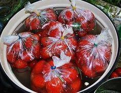 Помидоры в пакетах — это один из самых простых и быстрых способов соления помидор в домашних условиях!