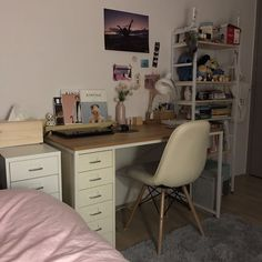 Trendy Ideas Home Bedroom Decor Desks Dream Rooms, Dream Bedroom, Minimalist Room, Aesthetic Room Decor, My New Room, House Rooms, Dorm Room, Room Inspiration, Bedroom Decor