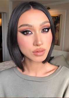 20 Charming Natural Makeup Looks Ideas For Valentine's Day - Latest Fashion Trends For Woman Cute Makeup, Glam Makeup, Makeup Inspo, Bridal Makeup, Makeup Blog, Makeup Inspiration, Makeup Geek, Makeup Addict, Beauty Makeup