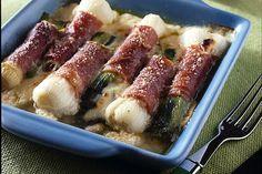 Ricette per cucinare le verdure invernali cipollotti-involtino