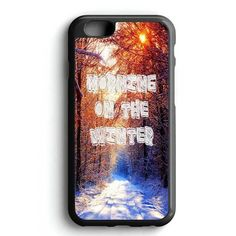 Morning On The Winter Quotes iPhone 7 Case