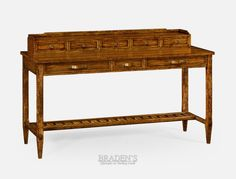Jonathan Charles Fine Furniture Narrow Walnut Console Table | Traditional  Design | Pinterest | Console Tables, Consoles And Traditional Design
