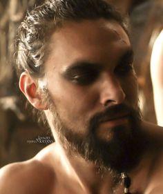Jason Momoa, Khal Drogo. Game of Thrones