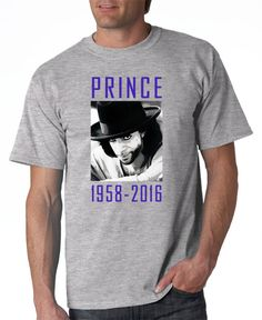 Prince Memorial Tshirt Prince Rogers Nelson by DesignerTeez