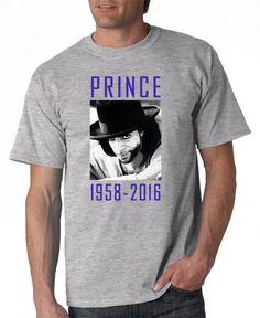 Prince Memorial Tshirt Prince Rogers Nelson by DesignerTeez