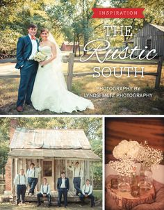 Rustic country wedding in Memphis, photographed by Lyndsi Metz Photography | The Pink Bride www.thepinkbride.com