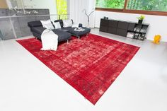 Vintage Carpet Red. Design meets Vintage. www.khodai.de